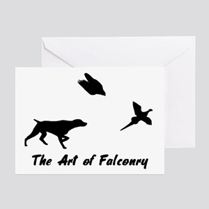 GSP and Falconry Greeting Cards (Pk of 10)