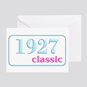 1927, 80th Greeting Cards (Pk of 10)