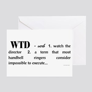 Watch the Director Greeting Cards (Pk of 10)