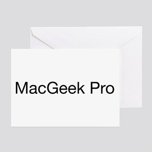 MacGeek Pro Greeting Cards (Pk of 10)