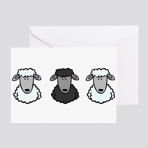 Black Sheep Of the Family Greeting Cards (Package