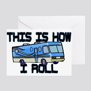 How I Roll RV Greeting Cards (Pk of 10)