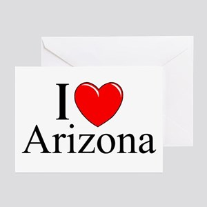 """I Love Arizona"" Greeting Cards (Pk of 10)"