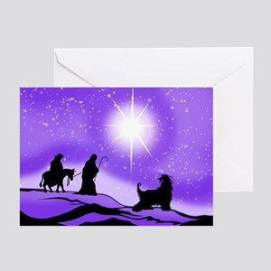 Afghan Night Divine Greeting Cards (Pk of 10)