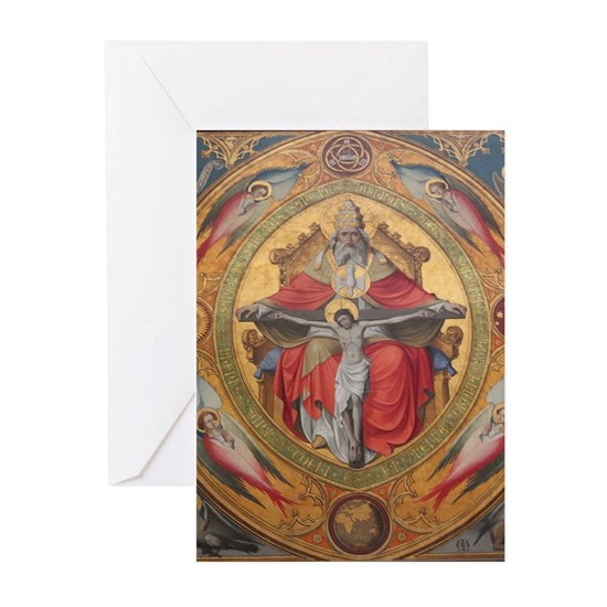 Altar Piece Greeting Cards (Pk of 10) by Christine aka stine1 on Cafepress