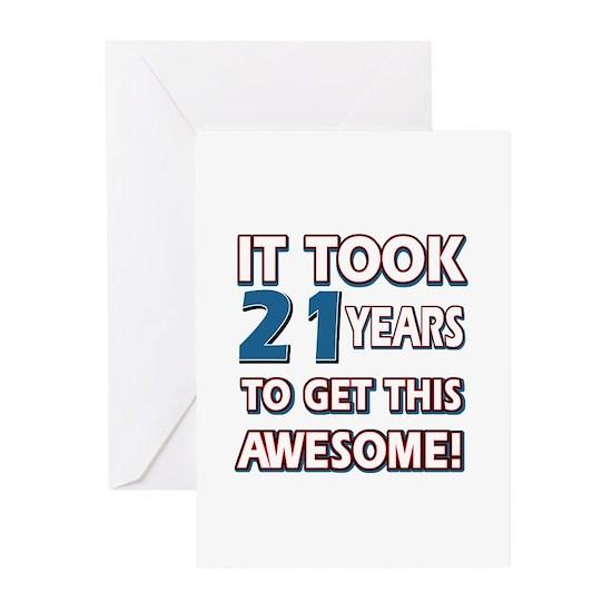 21 Year Old Birthday Designs