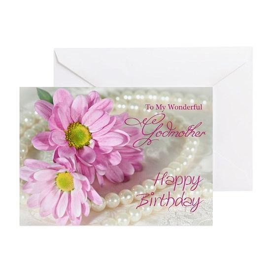 Verse2 Greeting Cards Pk Of 10 Godmother Birthday Card
