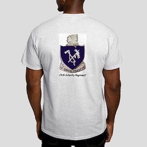 Ash Grey T-Shirt w/ 179th Crest Back