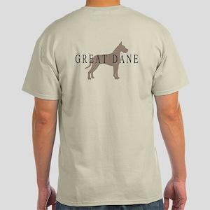 great dane greytones Light T-Shirt