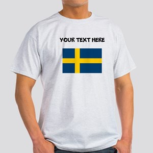 Custom Sweden Flag T-Shirt