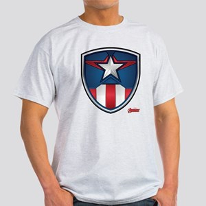 Cap Shield White T-Shirt