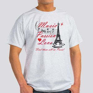 Paris-Music Light T-Shirt