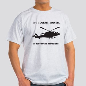 Helicopter Hover Light T-Shirt
