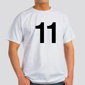 Number 11 Helvetica Light T-Shirt