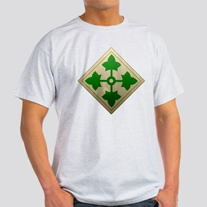 4th Infantry Division - Stead Light T-Shirt