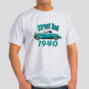 1940 Ford Hot Rod Jade Light T-Shirt