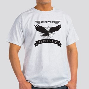 Personalized Birthday Eagle Spirit Light T-Shirt