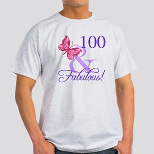 Fabulous 100th Birthday T-Shirt