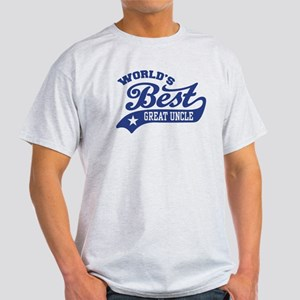 World's Best Great Uncle Light T-Shirt