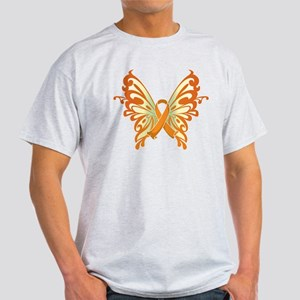 Leukemia Butterfly Light T-Shirt