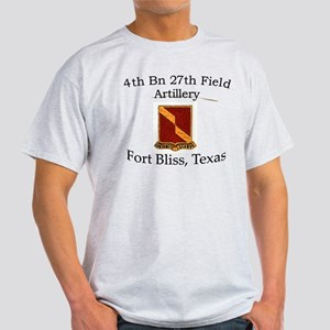 4th Bn 27th FA Light T-Shirt