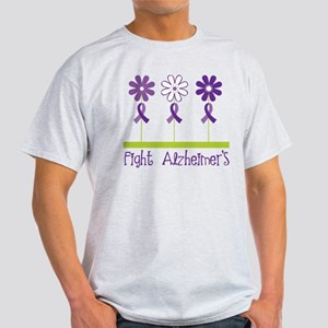 fight alzheimers purple daisies T-Shirt