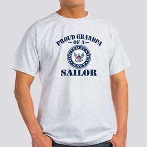 Proud Grandpa Of A US Navy Sailor Light T-Shirt