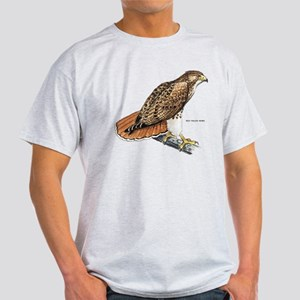 Red-Tailed Hawk Bird Light T-Shirt