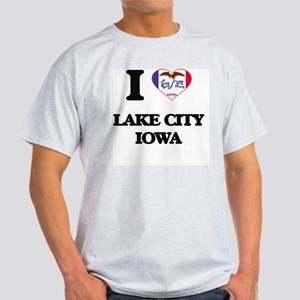 I love Lake City Iowa Light T-Shirt