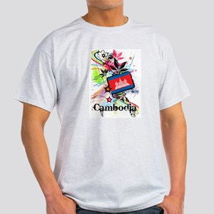 Flower Cambodia Light T-Shirt