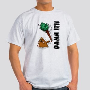 Funny Beaver Light T-Shirt