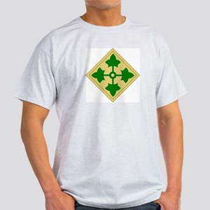 4th Infantry Division (1) Light T-Shirt