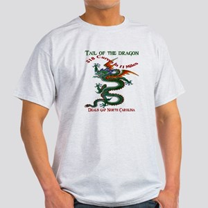Tail Of The Dragon Light T-Shirt