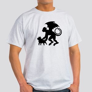 Flying Monkey with Toto Light T-Shirt
