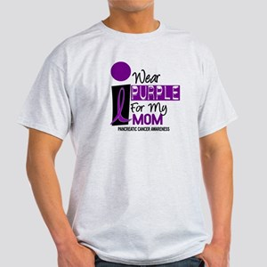 I Wear Purple For My Mom 9 PC Light T-Shirt