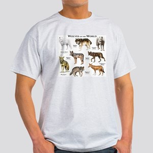 Wolves of the World Light T-Shirt