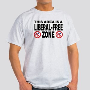 This Area Is A Liberal-Free Zone Light T-Shirt