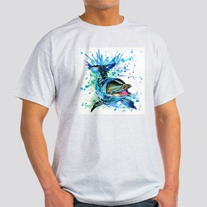 Watercolor Dolphin Light T-Shirt