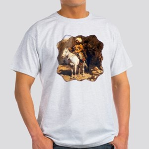 Mountain Men Western Art Light T-Shirt