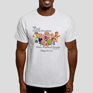 81b1eace Personalized Family Reunion Funny Cartoon T-Shirt