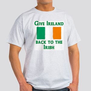Give Ireland Back Ash Grey T-Shirt