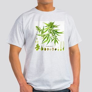 Cannabis Sativa L. Light T-Shirt