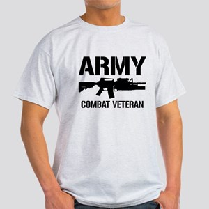 ARMY M4 Combat Veteran Light T-Shirt
