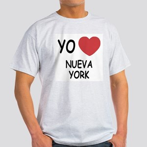 yo amo Nueva York Light T-Shirt