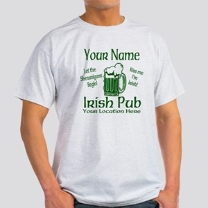 Custom Irish pub T-Shirt
