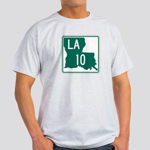 Route 10, Louisiana Light T-Shirt