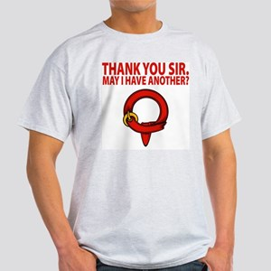 "Squire ""thank you sir"" Ash Grey T-Shirt"