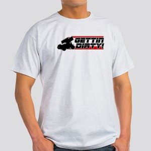 Gettin Dirty -Red Light T-Shirt