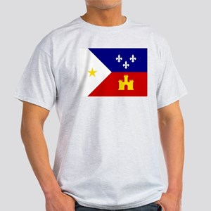 Flag of Acadiana Louisiana T-Shirt