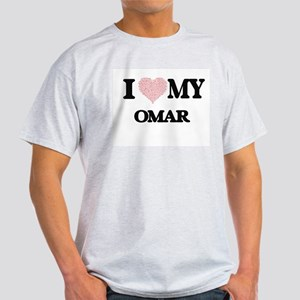 I Love my Omar (Heart Made from Love my wo T-Shirt